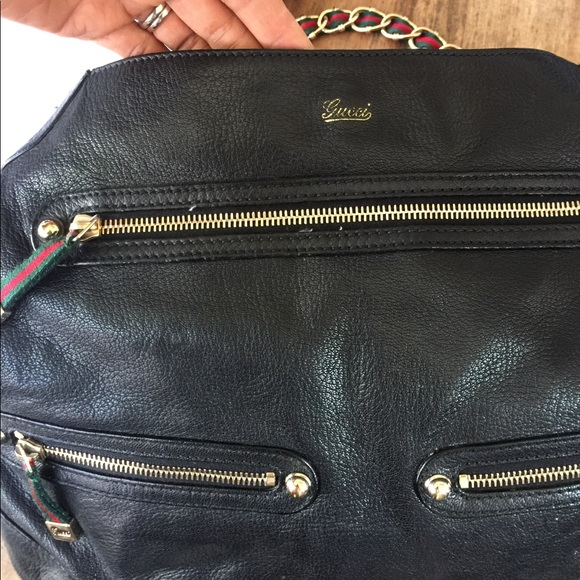Gucci Handbags - Gucci leather bag